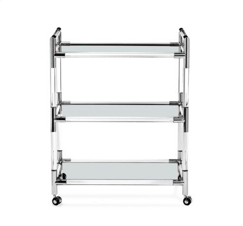 Julien Bar Cart - Nickel
