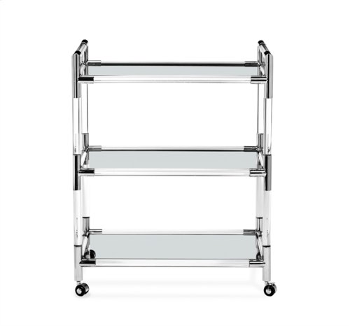Julien Bar Cart - Nickel