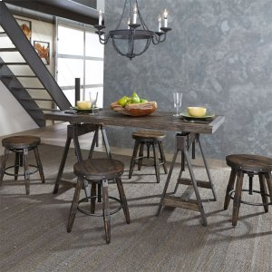 Liberty Furniture Industries 5 Piece Adjustable Table Set