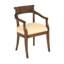 Hartford Upholstered Seat Arm Chair