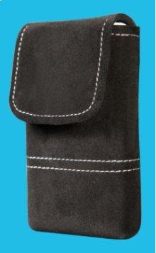 Rhapsody ibiza black suede carrying case