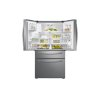Samsung 23 Cu. Ft. Counter Depth 4-Door French Door Refrigerator With Flexzone Drawer In Stainless Steel