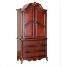 Armoire, Mahogany, Base Only