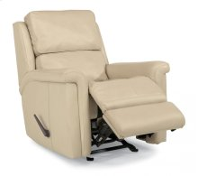Tosha Leather or Fabric Rocking Recliner
