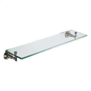 "Satin Nickel 24"" Shelf"