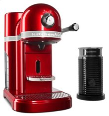 Nespresso® Espresso Maker by KitchenAid® with Milk Frother - Candy Apple Red