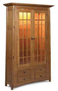 McCoy Bookcase, Glass Doors