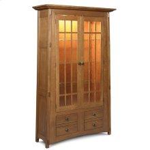 McCoy Bookcase, Glass Doors
