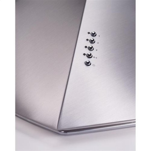 """42"""" Stainless Range Hood with External Blower Options"""