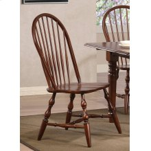 DLU-C30-CT-2  Andrews Windsor Spindleback Dining Chair  Chestnut  Set of 2