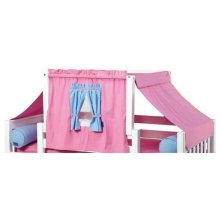 Top Tent Fabric (Twin) : Hot Pink/Light Blue/Purple