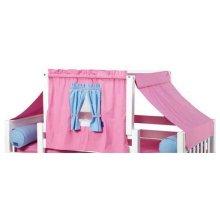 Top Tent Fabric (Twin) : Hot Pink/Light Blue/Purple