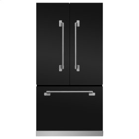 Matte Black Elise French Door Counter Depth Refrigerator