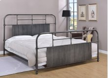 Cheriton Bed - King, Antique Black Finish