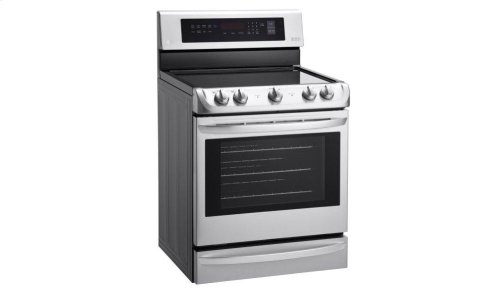 6.3 cu. ft Electric Single Oven Range with ProBake Convection® and EasyClean®