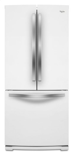 """Whirlpool® 30"""" French Door Refrigerator with More Usable Capacity"""