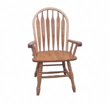 Colonial Windsor Bow Back Arm Chair