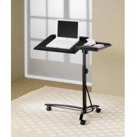 Transitional Black Laptop Stand Product Image