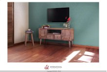 "60"" TV-Stand w/2 Drawers, 2 Doors & 1 Shelf"