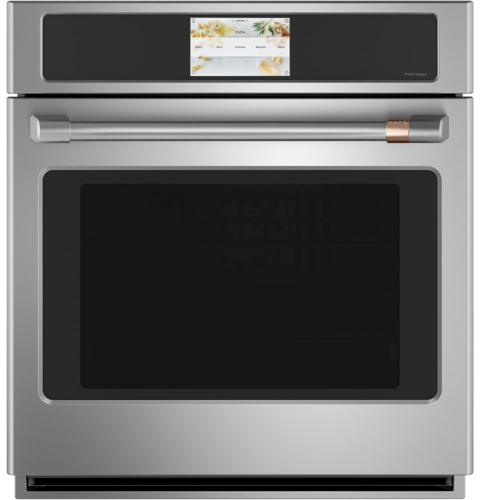"Cafe AppliancesCaf(eback) 27"" Smart Single Wall Oven With Convection"