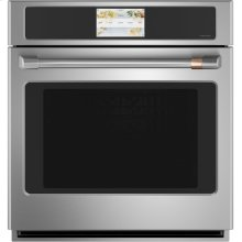 """Café 27"""" Built-In Single Electric Convection Wall Oven"""