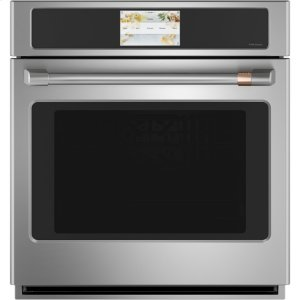 "Cafe Appliances27"" Smart Single Wall Oven with Convection"