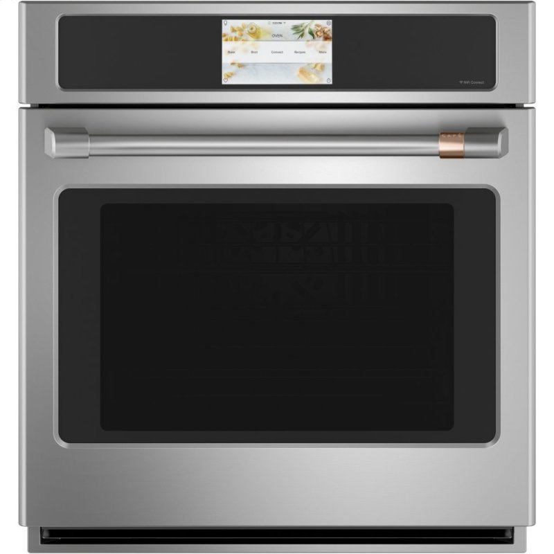 "Caf(eback) 27"" Smart Single Wall Oven with Convection"