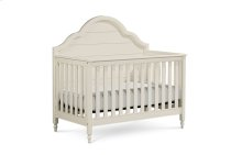 Inspirations by Wendy Bellissimo - Seashell White Grow with Me Convertible Crib