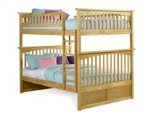 Columbia Bunk Bed Full over Full in Natural