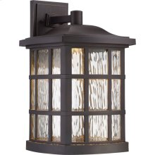 Stonington LED Outdoor Lantern in Palladian Bronze