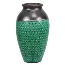 CERAMIC VASE, PATTERN ON BODY