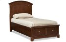 Impressions Panel Bed with Storage Twin Product Image