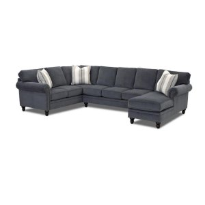 Klaussner Living Room Carter Sectionals K94410-Fab-Sect
