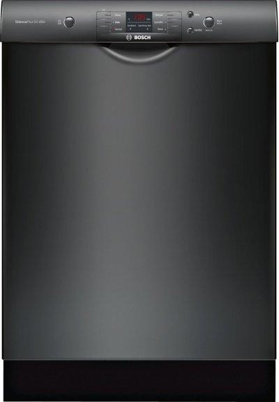 "100 Series 24"" Scoop Handle Dishwasher, SHEM3AY56N, Black Product Image"