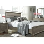 Queen Uph Bed, Dresser & Mirror, N/S