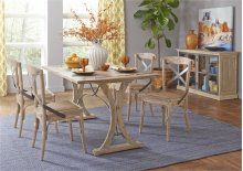 Folding Top Dining Table