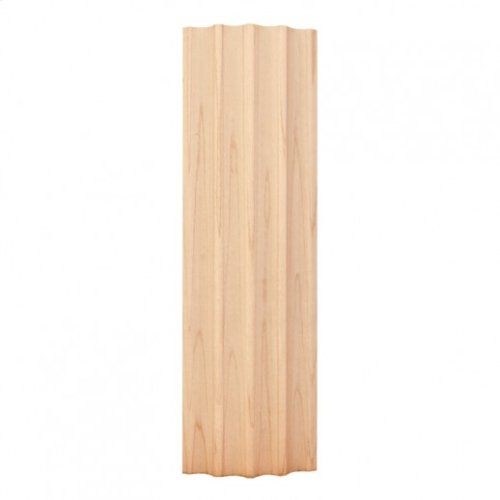 """2-7/8"""" X 3/4"""" Curved Fluted Moulding Species: Hard Maple"""