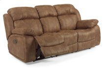 Como NuvoLeather Reclining Sofa