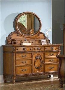Southern Heritage Door Dresser & Jewelry Box Mirror