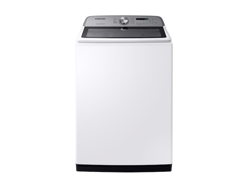 Samsung5.4 Cu. Ft. Top Load Washer With Active Waterjet In White