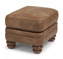 Bay Bridge Nuvo Ottoman with Nailhead Trim Product Image