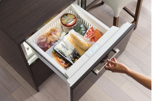"""24"""" Freezer Drawers with Ice Maker - Panel Ready"""