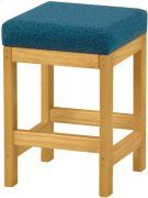 Kitchen Stool, Fabric Product Image
