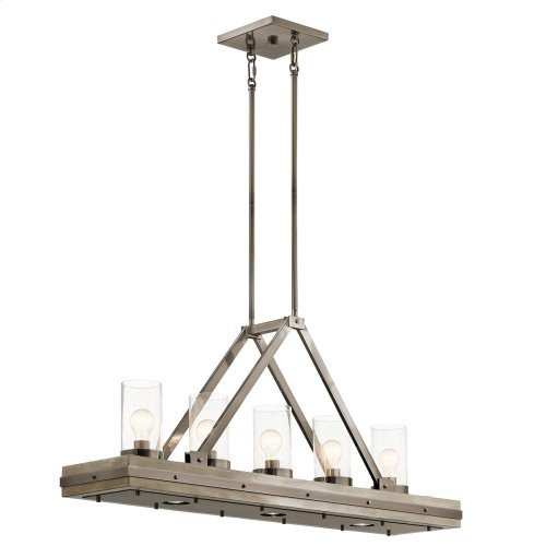Colerne Collection Colerne 8 Light Linear Chandelier CLP