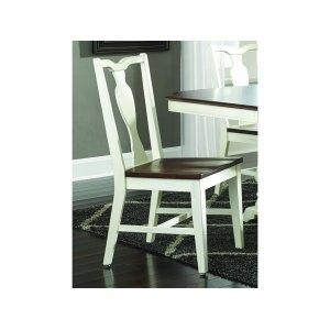 JOHN THOMAS FURNITURESplatback Chair in Chestnut/Shell