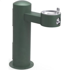 Elkay Outdoor Fountain Pedestal Non-Filtered, Non-Refrigerated Freeze Resistant Evergreen