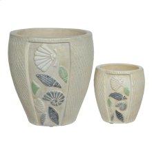 Antique Shell Vases