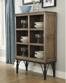 Dining Room Server Tripton - Medium Brown  Collection Ashley at Aztec Distribution Center Houston Texas