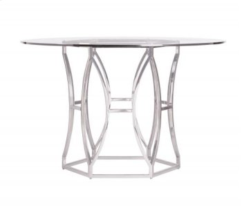 """Argent Round Dining Table (48"""") Product Image"""