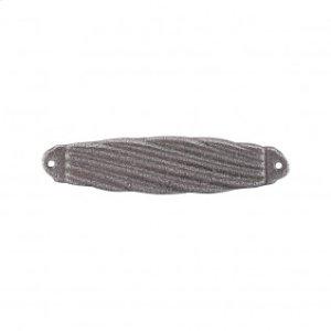Versailles Strike Plate 2 5/8 Inch - Cast Iron